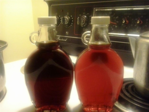 Dark and Amber Birch Syrup